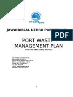 JNPT's Waste Management Plan