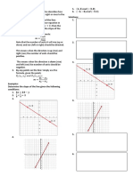 Slope of the Line- Notes and Worksheet