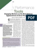 Human Performance Tools Article