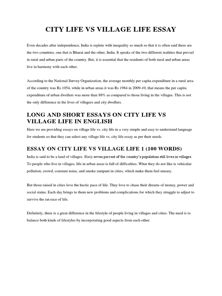 Essay on urban life in india math facts homework