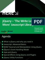 DeepakGulati jQuery the Write Less Do-1