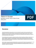 Telenor in Europe