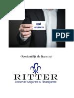 Oportunități Ale Francizei RITTER Broker