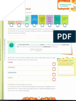 Actividades primaria Objeto directo e indirecto