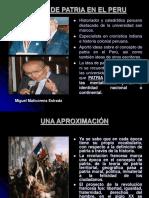 La Idea de Patria en El Peru