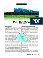 Profile Mt Isarog