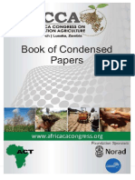 Book of Condensed Papers of the First Africa Congress on Conservation Agriculture, 18 - 21 March, 2014, Lusaka. African Conservation Tillage Network