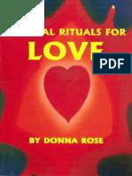 Magic Rituals for Love - Donna Rose
