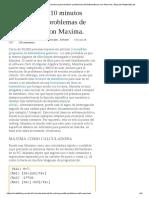 Un Tutorial de 10 Minutos Para Resolver Problemas de Matemáticas Con Maxima _ Blog de Matemáticas