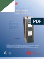 Electro Industries EMB-H-5 WarmFlo Radiant Heating Modulating Electric Boiler-15,000BTU, 240V,4.5KW
