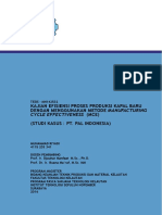4115203341-Master Thesis.pdf ITS Kajian Efisiensi