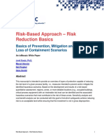 Risk Based Approach Risk Reduction Basics 2017