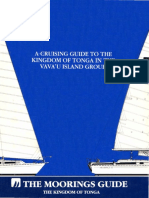 Cruising Guide to the Kingdom of Tonga in the Vavau Island Group 1996 Moorings 0944428177