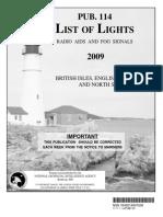 Pub. 114 List of Lights British Isles, English Channel, and North Sea 2009.pdf