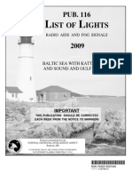 Pub. 116 List of Lights Baltic Sea with Kattegat Belts and Sound, Gulf of Bothnia 2009.pdf
