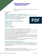 Historical Background of Ganoderma