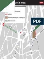 Travaux dans le centre-ville de Brive