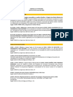 Agenda de Actividades Destacadas. Del 15 al 31 de enero de 2019. Fundación Caja Mediterráneo