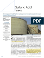 Safety in Sulfuric Acid Storage Tanks