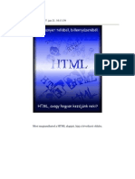 HTML Alapok
