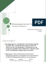 IntroduçãoLinguagemC