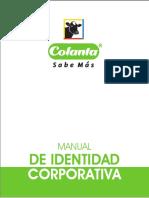 manual de identidad corporativa COLANTA(R)