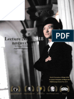 Bill Cheung - Lecture Notes 2018