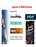 Inspection of Relief Devices