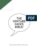 The Venture Hacks Bible - Sample