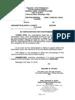 Motion for Postponementrachel