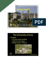 Energy Audit-Sustainability Class
