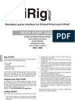 IRig Stomp Start Guide