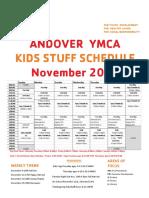 Andover Kids Stuff Curriculum