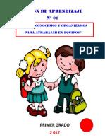 Sesión de Aprendizaje 01 - i Unidad - Imprimir