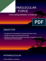 Intermolecular Force b