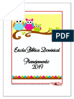 Ebd - Planner 2019