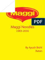Maggi - Marketing Management