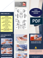 Leaflet cara penggunaan insulin