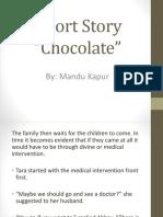 Short Story Chocolate