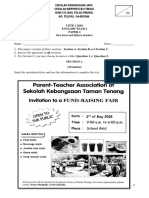 English Year 4 Paper 2 2018
