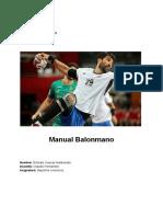 Manual de balonmano