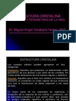 3. Estructura Cristalina.- Sistemas y Parámetros de La Red (1)