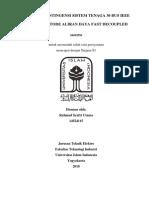 ANALISIS KONTINGENSI SISTEM TENAGA LISTRIK 30 BUS IEEE BERBASIS ALIRAN DAYA FAST DECOUPLED