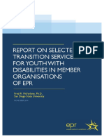 Report transition services EPR