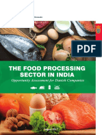 Food Processing Sector in IndiaOpportunity Assesment Fo Danish Companie
