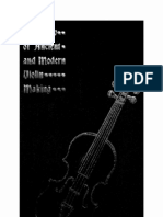 A review of ancient and modern violin making