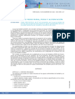 Normativa de Pesca Continental en Cantabria 2019
