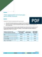 Detalii Oferta Reglementata Gaz ENGIE TRADITIO