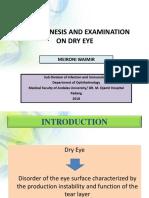 Patogenesis Dan Pemeriksaan Pada Dry Eye