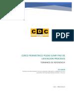 TDR-CercoPerimetrico Pozas Sump Pad de Lixiviación